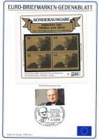 Euro - Briefmarken - Gedenkblatt - Sonderausgabe ! !