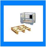 Foto 2 Euro - Transportboxen, Gitterboxen; auch Transportpaletten - Ankauf / Verkauf