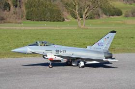 Eurofighter Grumania (Voll-GFK) mit Schübeler DS94DIA HST - Fullscale!