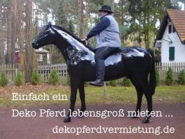 Event geplant und dazu ein Deko Pferd oder ne Deko Melk Kuh lebensgroß mieten …?