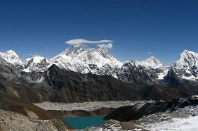 Everest trekking to base camp (5350m)