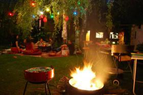 Exclusive Partyräume, Event- & Grill-Location mit Garten
