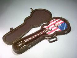Foto 4 Exklusiv Miniaturgitarre Köcher + Standard