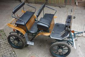 Foto 2 Exklusive Jagdpferde-Kutsche mit Scheibenbremsen und Gummibereifung