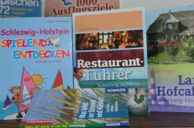 Literatur zu Ausflugszielen, Restaurant- u. Cafeführer, Umgebungskarte