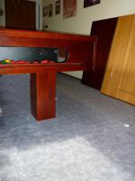 Foto 10 ''Exklusiver Henzgen Poolbillard-Tisch aus Mahagoni + Abdeckplatte''