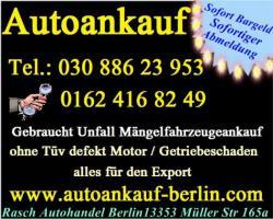 Export Autoankauf Unfallwagenankauf Mängelfahrzeugeankauf 030 886 23 953