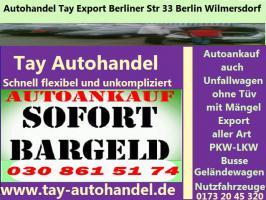 Foto 6 Export Kfz Handel - Fahrzeuge Barankauf Berlin Bundesweit  Wir holen Bundesweit ab.  Sie wollen Ihren Gebraucht - Unfall - Mängelfahrzeug Verkaufen ?  egal ob Getribeschaden Motorschaden oder ein Unfallwagen,  Gewerblicher Betrieb - Seriöse Abwicklung Bei