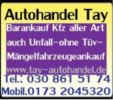 Foto 2 Export autohandel Autoankauf - Gebraucht - Unfall-Mängelfahrzeugeankauf Berlin / Umland Sofort barankauf Sofortiger Abmeldung