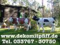 FANG AN ZU PLANEN WO DIE NEUE DEKO KUH STEH SOLL IM GARTEN… www.dekomitpfiff.de