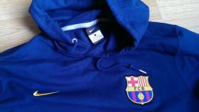 Foto 2 FC Barcelona Sweater neu Fb. blau Nike Größe L