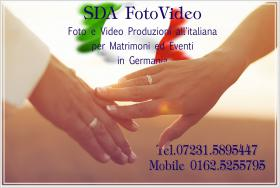 FOTOGRAFO ITALIANO - ITALIENISCHER HOCHZEITSFOTOGRAF www.sdafotovideo.com SDA FOTOVIDEO PRODUKTION