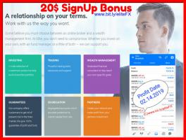 FREE money from Forex 20$ SignUp Bonus
