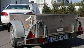 Fahrenhorst PKW Anhänger - 750 kg - Ladefläche 208 x 105 cm