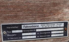 Foto 4 Fahrenhorst PKW Anhänger - 750 kg - Ladefläche 208 x 105 cm
