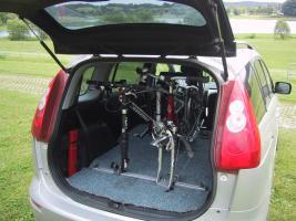 Fahrradträger für PKW-Innenraum