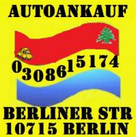 Fahrzeugeankauf ohne Tüv defekt Mängelfahrzeugeankauf Berlin - Umland Autohandel Tay Export Tel.: 030 861 51 74