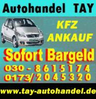 Foto 2 Fahrzeugeankauf ohne Tüv defekt Mängelfahrzeugeankauf Berlin - Umland Autohandel Tay Export Tel.: 030 861 51 74