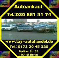 Foto 3 Fahrzeugeankauf ohne Tüv defekt Mängelfahrzeugeankauf Berlin - Umland Autohandel Tay Export Tel.: 030 861 51 74
