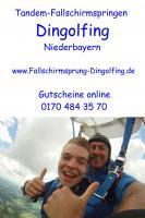 Foto 6 Fallschirmspringen Gutschein Geschenk Bayern Dingolfing Landshut