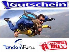 Fallschirmspringen Tandemsprung Bayern Gutschein 6000m