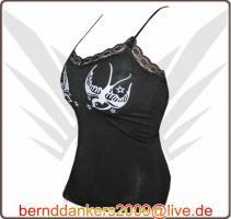 Foto 2 FancyBeast Party Clubwear Girl Shirt mit Spaghettiträger   NEU!