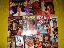 Fanpaket von Sylvester Stallone !