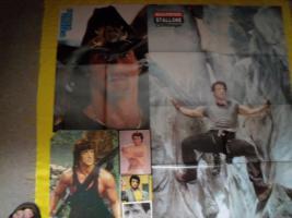 Foto 2 Fanpaket von Sylvester Stallone !
