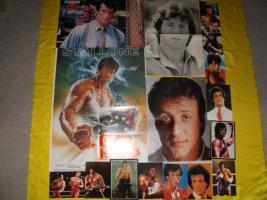 Foto 4 Fanpaket von Sylvester Stallone !