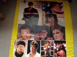 Foto 9 Fanpaket von Sylvester Stallone !