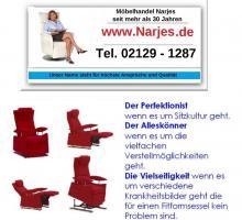 Fashion-Sessel mit elektrischer Aufstehfunktion