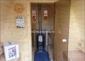 Foto 4 Fass Sauna, Sauna Pod, Saunafass, Gartensauna, Saunapod, Fasssauna