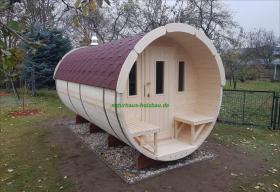 Foto 23 Fass Sauna, Sauna Pod, Saunafass, Gartensauna, Saunapod, Fasssauna