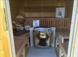Foto 14 Fasssauna, Saunafass, Fass Sauna, Sauna Pod, Saunakota, Gartensauna, Aussensauna, Saunatonne, Sauna