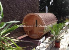 Foto 16 Fasssauna, Saunafass, Fass Sauna, Sauna Pod, Saunakota, Gartensauna, Aussensauna, Saunatonne, Sauna