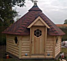 Foto 3 Fasssauna, Saunafass, Gartensauna, Sauna Pod, Faßsauna, Außensauna
