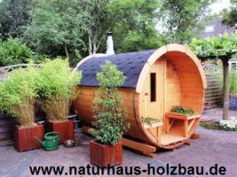 Foto 15 Fasssauna, Saunafass, Gartensauna, Sauna Pod, Faßsauna, Außensauna