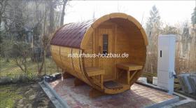 Foto 8 Fasssauna, Saunen, Saunafass, Faßsauna, Saunapod, Sauna Pod, Gartensauna, Aussensauna, Saunablockhäuser, ..
