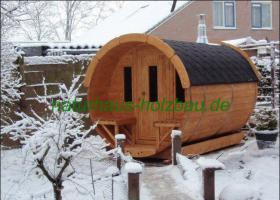 Foto 9 Fasssauna, Saunen, Saunafass, Faßsauna, Saunapod, Sauna Pod, Gartensauna, Aussensauna, Saunablockhäuser, ..