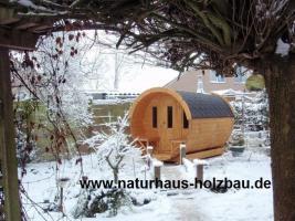 Foto 16 Fasssauna, Saunen, Saunafass, Faßsauna, Saunapod, Sauna Pod, Gartensauna, Aussensauna, Saunablockhäuser, ..