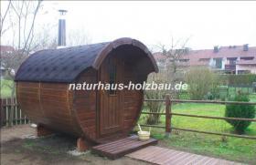 Foto 22 Fasssauna, Saunen, Saunafass, Faßsauna, Saunapod, Sauna Pod, Gartensauna, Aussensauna, Saunablockhäuser, ..