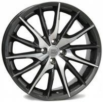 Felge WSP FiRe MiTo 7.0x17.0 ET37 4X100 56,6 ANTHRACITE POLISHED