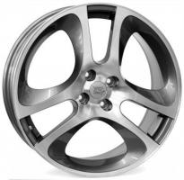 Felge WSP MaRs MiTo 7.0x17.0 ET39 4X098 58,1 ANTHRACITE POLISHED