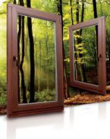 Fenster Dreh Kipp - Mahagoni außen - 30% Rabatt Kunststofffenster