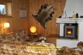 Foto 3 Ferienhaus Blockhütte mit Kamin und Sauna in Lappland/Schweden
