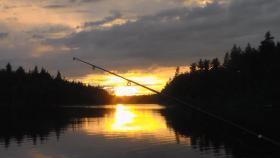 Ferienhaus mit Boot und Sauna in Schweden