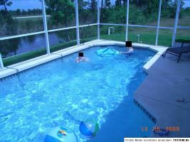 Foto 2 Ferienhaus in Florida, am Kanal, 20 Minuten vom Strand entfernt