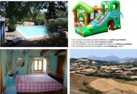 Ferienhaus Italien - für 8,12,16,20 Personen mit Pool und Panoramablick