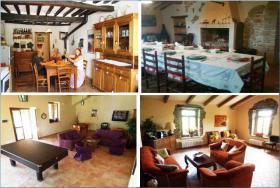 Foto 2 Ferienhaus Italien - für 8,12,16,20 Personen mit Pool und Panoramablick