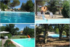 Foto 3 Ferienhaus Italien - für 8,12,16,20 Personen mit Pool und Panoramablick
